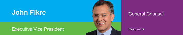 John Fikre | Executive Vice President | General Counsel