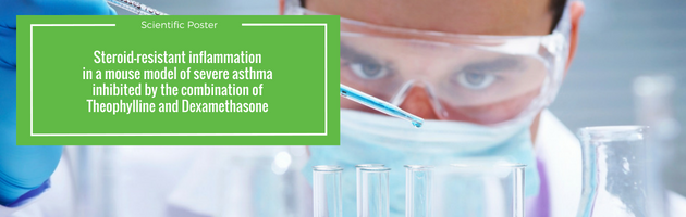 Steroid-resistant inflammation in a mouse model of severe asthma is inhibited by the combination of theophylline and Dexamethasone