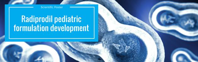 Radiprodil pediatric formulation development