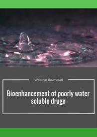 Aptuit | Bioenhancement of poorly water soluble drugs
