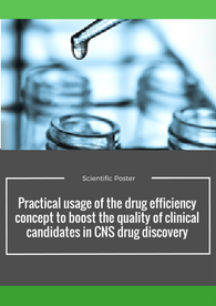 Aptuit | Practical usage of the drug efficiency concept to boost the quality of clinical candidates in CNS drug discovery