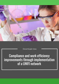 Aptuit   Compliance and work efficiency improvements through implementation of a UNIFI Network - EBF 2016