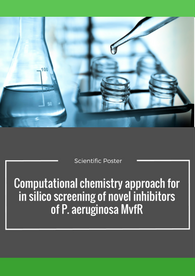 Aptuit | Computational chemistry approach for in silico screening of novel inhibitors of P. aeruginosa MvfR