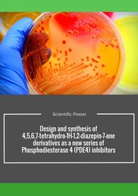Aptuit | Design and synthesis of 4,5,6,7-tetrahydro-1H-1,2-diazepin-7-one derivatives as a new series of Phosphodiesterase 4 (PDE4) inhibitors