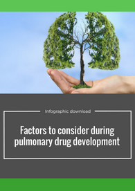 Factors to consider during pulmonary drug development