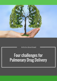 Aptuit   Four challenges for pulmonary drug delivery
