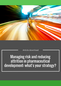 Managing risk and reducing attrition in pharmaceutical development: what's your strategy?