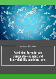 Aptuit | Preclinical Formulation: Design, development and bioavailability considerations webinar