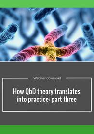 Aptuit   How QbD theory translates into practice: part 3