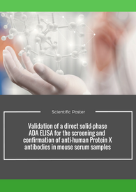 Aptuit | Challenging high drug tolerance observed during the validation of a direct solid-phase ADA ELISA - EBF 2016