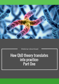 How QbD theory translates into practice. Free webinar series.