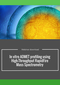 In vitro ADMET profiling using high throughput RapidFire mass spectrometry